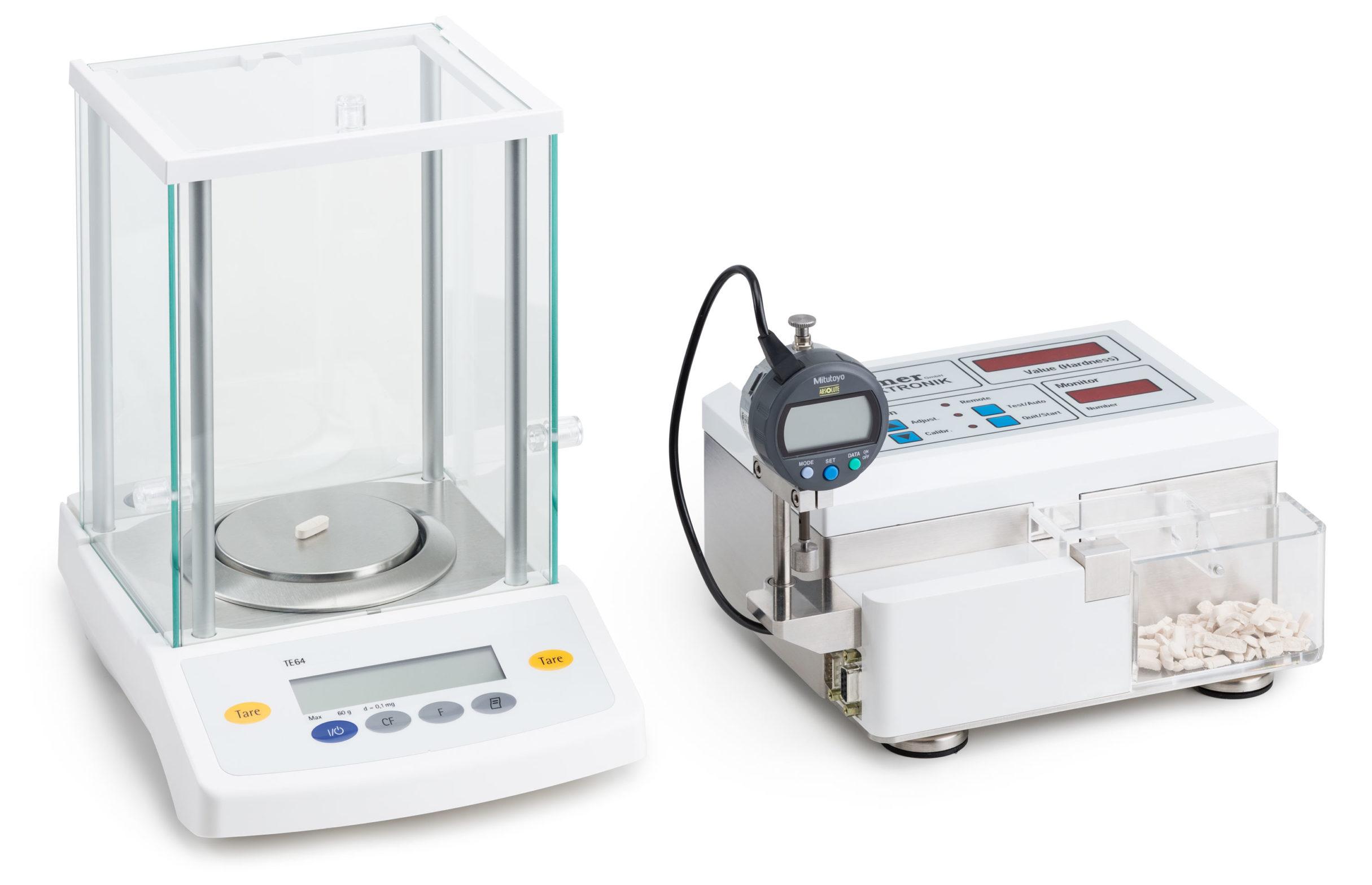 Manueller Tabletten-Härtetester, Kraemer Elektronik